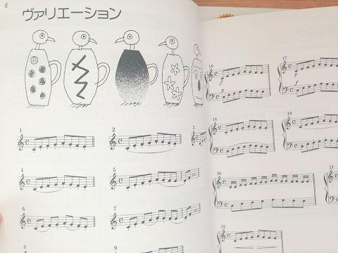 ハノン・ノン/バリエーション