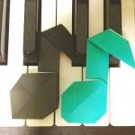 音符の折り紙