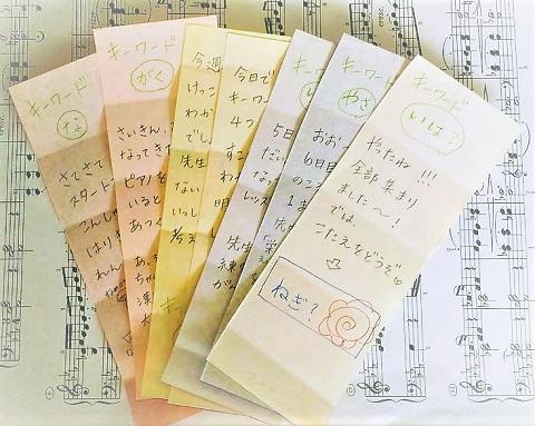 レッスングーッズ~練習カード