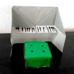 折り紙ーピアノ